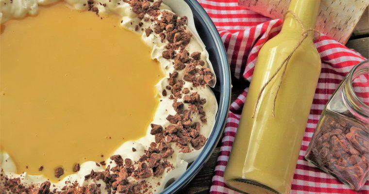 Baileys-Sahne-Torte mit Nüssen