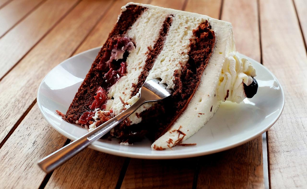 Eiskaffee-Quark-Sahne-Torte
