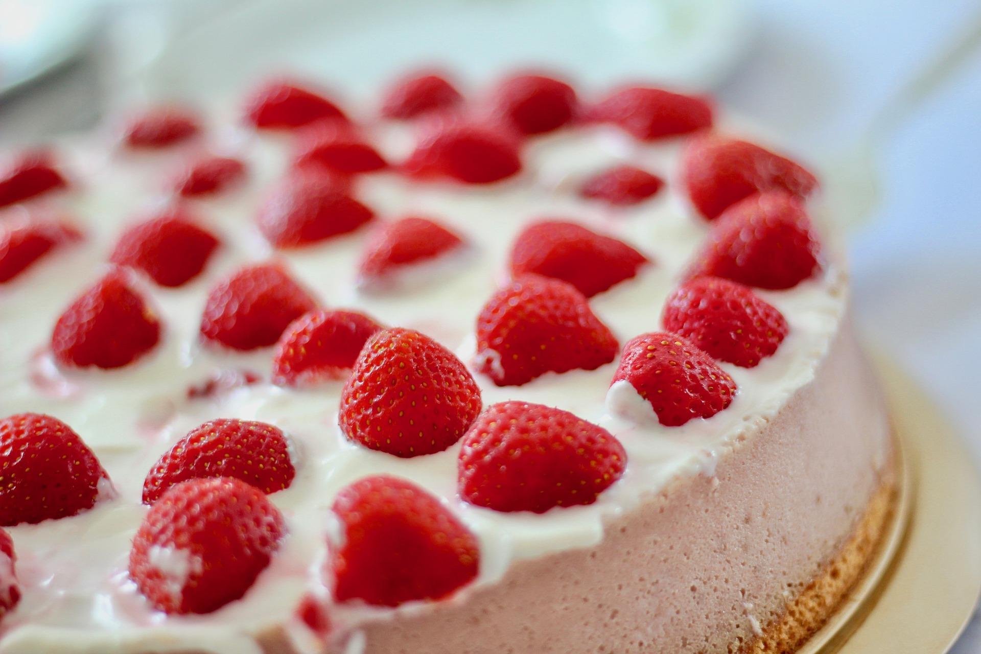 Erdbeer Quark Kuchen Alles Uber Backen