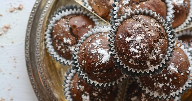 Johannisbeer-Schoko-Muffins