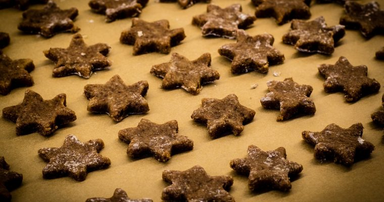 Vegane-Schokoladenplätzchen