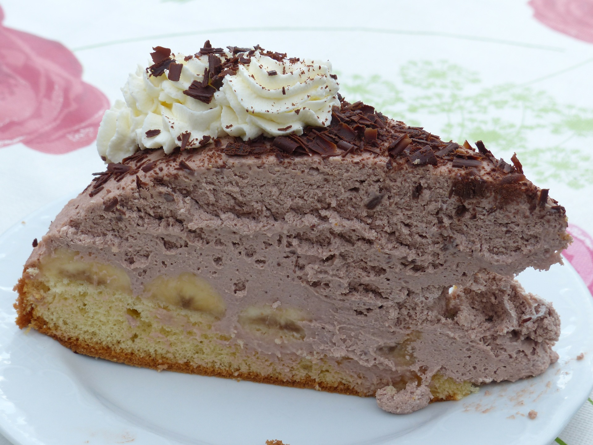 Banana Split Torte ohne Backen