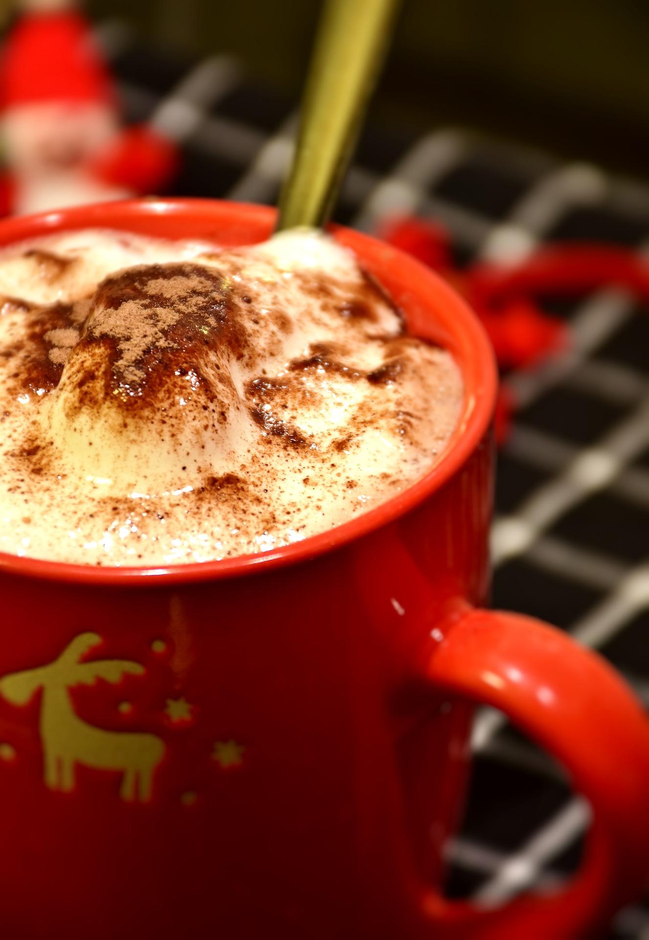 Schokoladen Mug Cake mit Erdnussbutter Topping (Tassenkuchen)