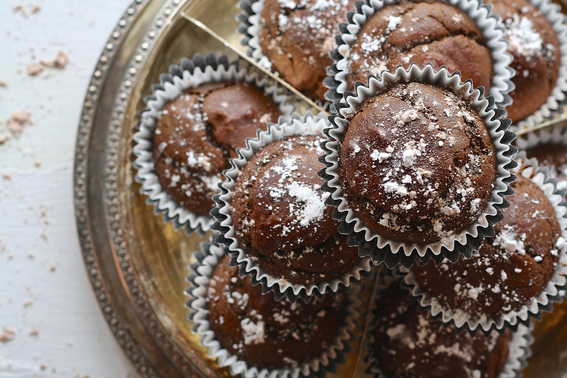Glühwein – Spekulatius Muffins