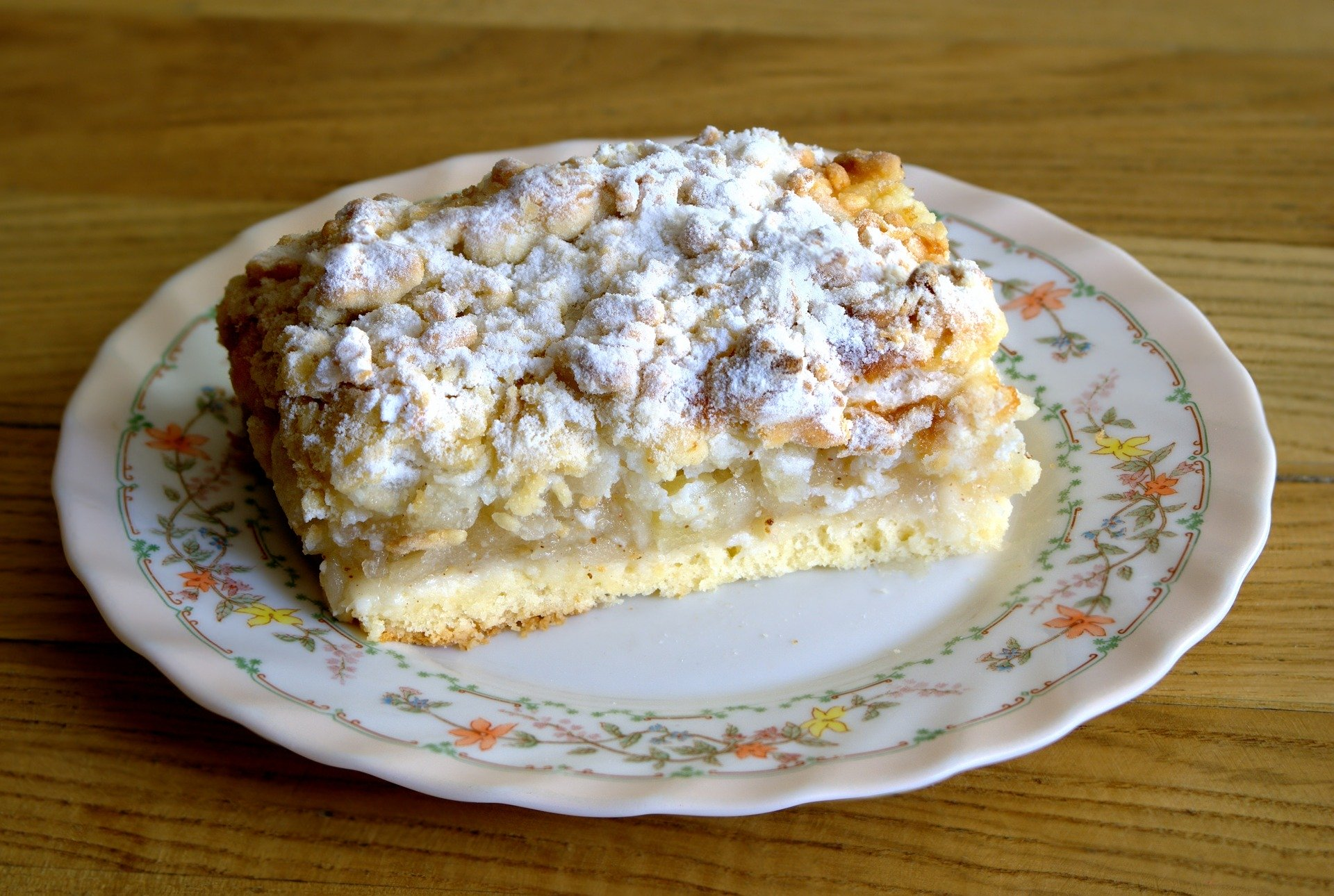 Apfelkuchen mit Vanille Schmand