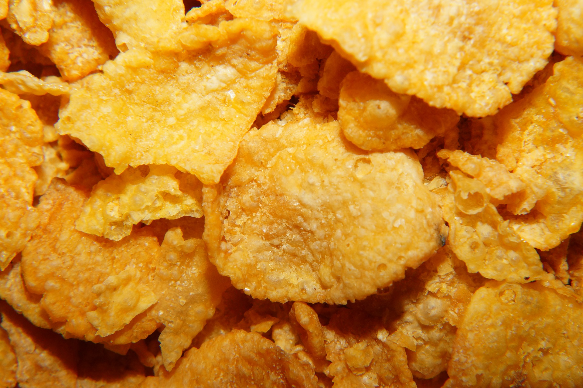 Apfel – Cornflakes – Brot