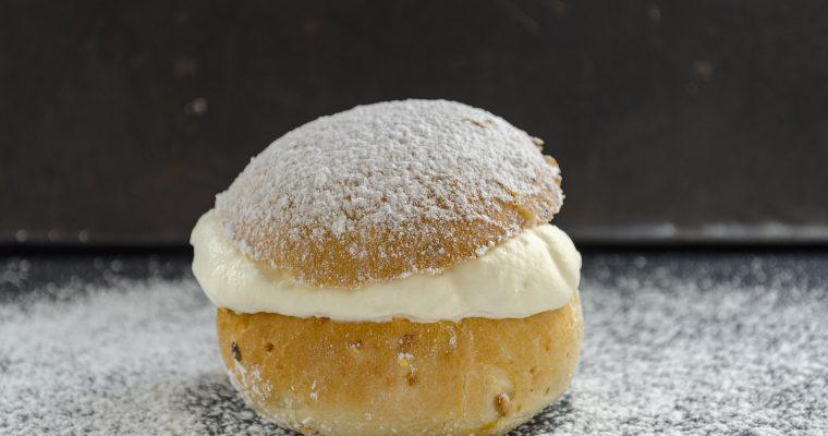 Süße Vanillebrötchen